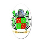Naughten 35x21 Oval Wall Decal