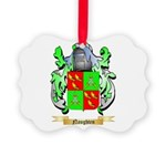 Naughten Picture Ornament