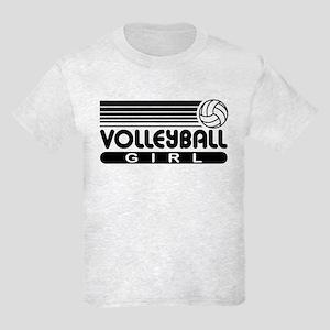 Volleyball Girl Kids Light T-Shirt