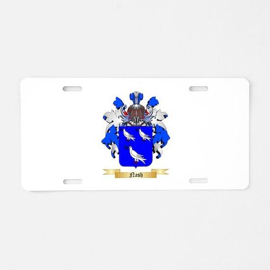 Nash Aluminum License Plate
