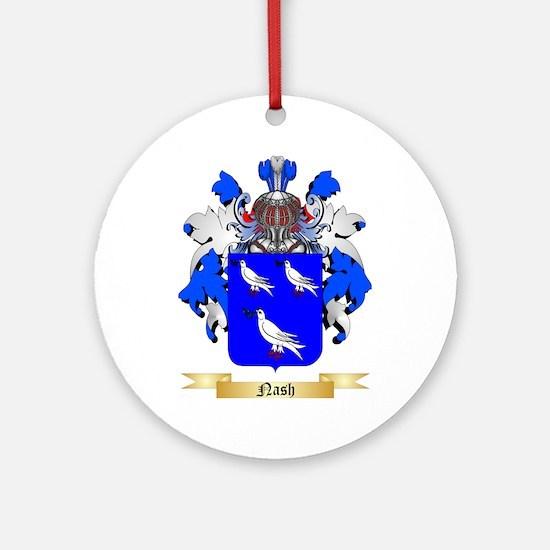 Nash Round Ornament