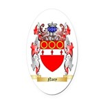 Nary Oval Car Magnet