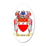 Nary 20x12 Oval Wall Decal
