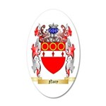 Nary 35x21 Oval Wall Decal