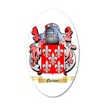 Narvaez 20x12 Oval Wall Decal
