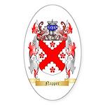 Napper Sticker (Oval)