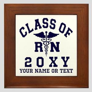 Class of 20?? Nursing (RN) Framed Tile