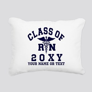 Class of 20?? Nursing (RN) Rectangular Canvas Pill