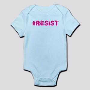#RESIST Stamp Pink Body Suit