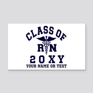Class of 20?? Nursing (RN) Rectangle Car Magnet