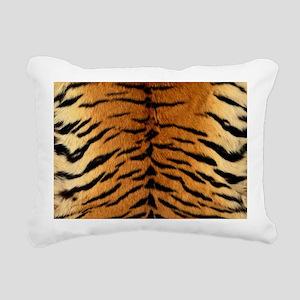 TIGER FUR Rectangular Canvas Pillow