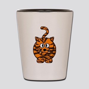 Cartoon Tiger Shot Glass