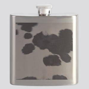 SPOTTED COW HIDE Flask
