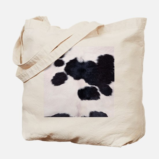 SPOTTED COW HIDE Tote Bag