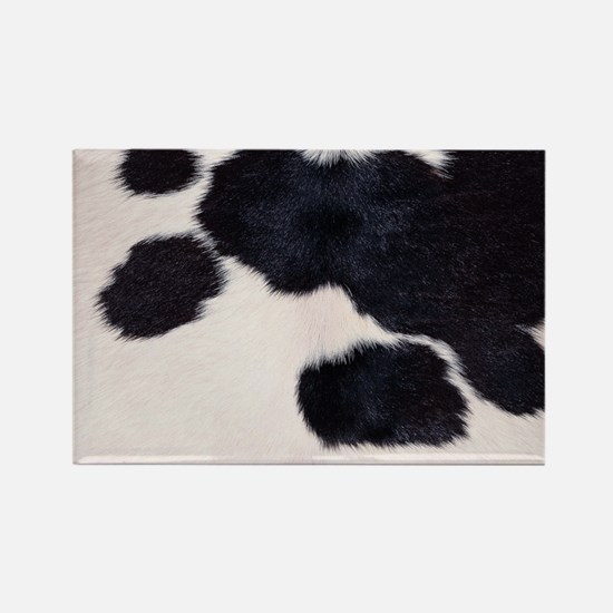 SPOTTED COW HIDE Rectangle Magnet