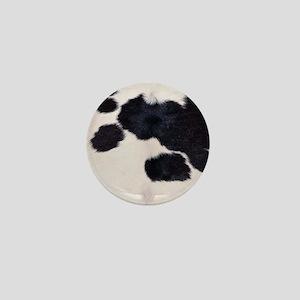 SPOTTED COW HIDE Mini Button