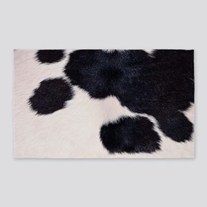 SPOTTED COW HIDE Area Rug