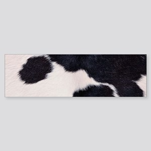 SPOTTED COW HIDE Sticker (Bumper)