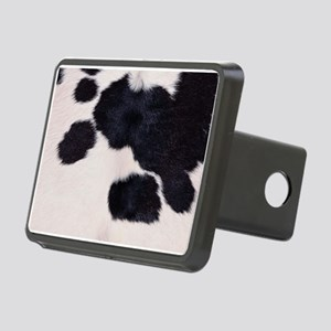 SPOTTED COW HIDE Rectangular Hitch Cover