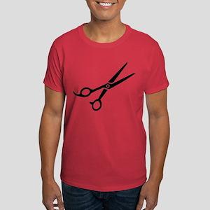 Hairdresser scissors Dark T-Shirt
