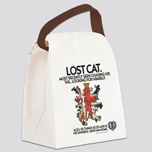 Lost Canvas Lunch Bag