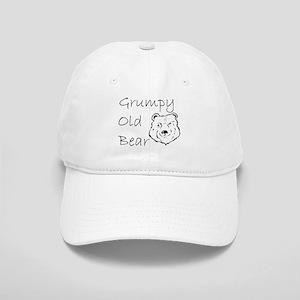 Grumpy Old Bear Baseball Cap