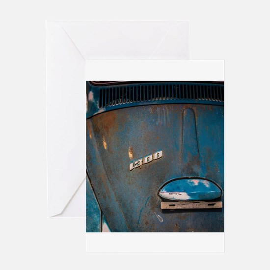 VW Blues Greeting Cards