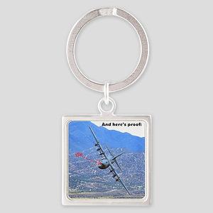 C-130 LOW LEVEL Keychains