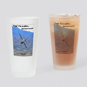 C-130 LOW LEVEL Drinking Glass