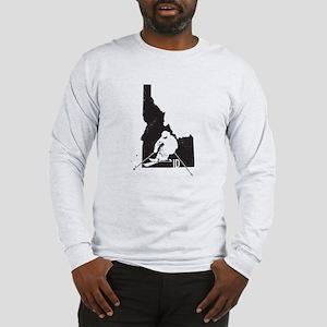 Ski Idaho Long Sleeve T-Shirt