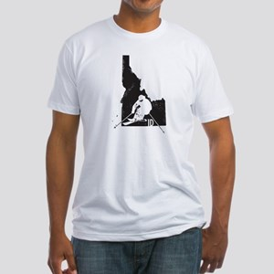 Ski Idaho Fitted T-Shirt