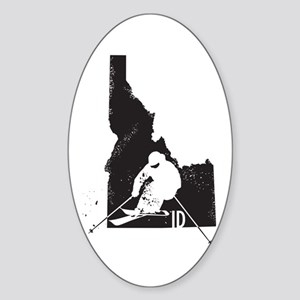 Ski Idaho Sticker (Oval)