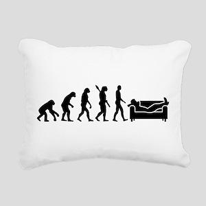 Evolution couch Rectangular Canvas Pillow