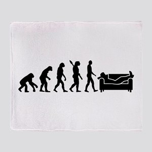 Evolution couch Throw Blanket