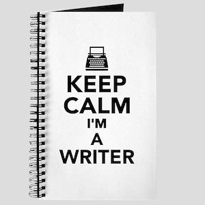 Keep calm I'm a Writer Journal