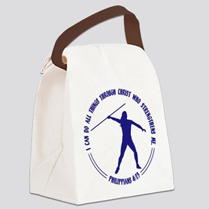 JAVELIN - Phil. 4:13 Canvas Lunch Bag