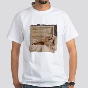 Loki In Basket 2 White T-Shirt