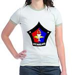 USS Mars (AFS 1) Jr. Ringer T-Shirt