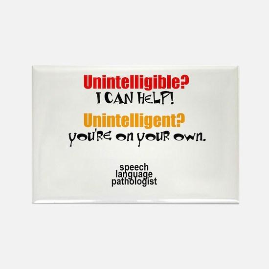 Cute Speech Rectangle Magnet