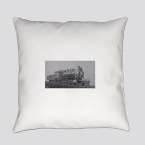 Steam Engine Everyday Pillow