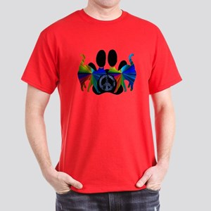 PEACE CATS Dark T-Shirt
