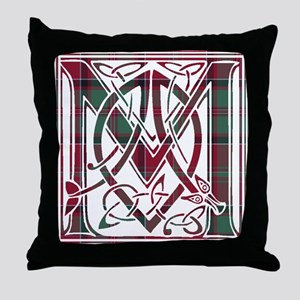 Monogram - MacDonald of Glencoe Throw Pillow
