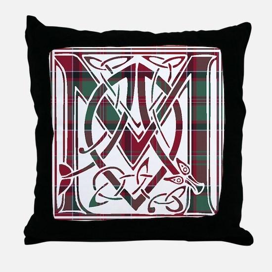 Monogram - MacDonald of Glencoe Throw Pillow