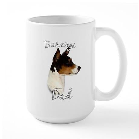 Basenji Dad2 Large Mug