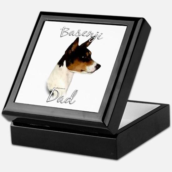 Basenji Dad2 Keepsake Box