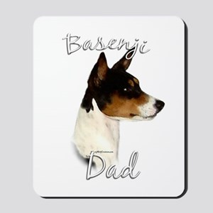 Basenji Dad2 Mousepad
