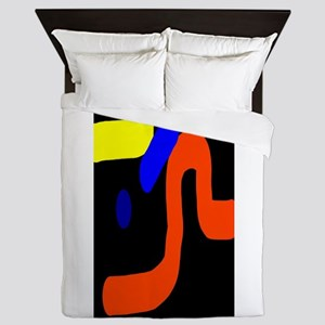 Exclamation Point Queen Duvet
