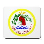 USS San Jose (AFS 7) Mousepad