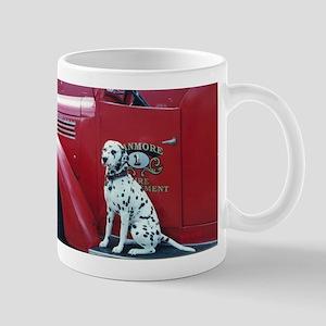 Dalmatian & Firetruck Mug