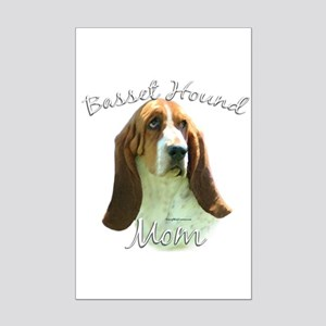 Basset Mom2 Mini Poster Print